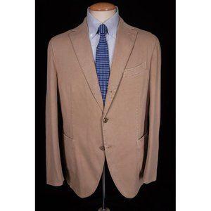 "BOGLIOLI New 44 R Tan Cotton ""Coat"" Jacket"